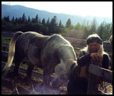 The Wilderness Woman & The HighJoy Horse!